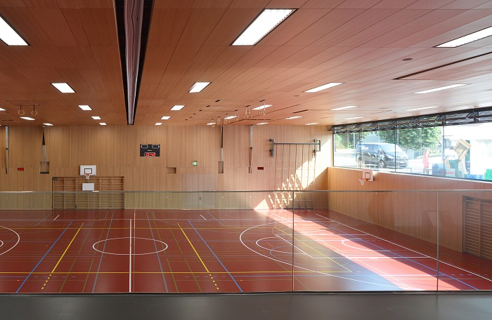 Salle de gym double